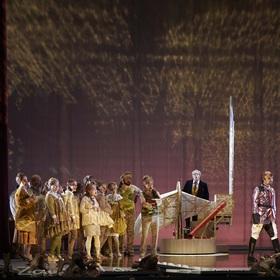 Bild: Der Wildschütz - Komische Oper in drei Aufzügen von Albert Lortzing nach einem Lustspiel von August von Kotzebue