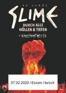 """Slime - """"40 Jahre Slime - Durch Alle Höllen Und Tiefen"""""""