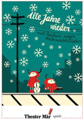 Alle Jahre wieder - Zwei Rentiere singen Weihnachtslieder