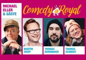 Comedy Royal - Michael Eller und seine Gäste: Robbi Pawlik, Freddy Farzadi, Horst Fyrguth