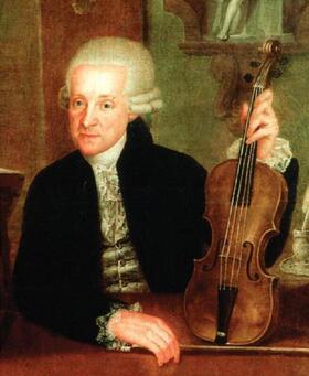 Bild: Leopold Mozart & Antonio Rosetti
