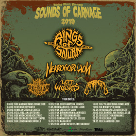 Bild: RINGS OF SATURN - SOUNDS OF CARNAGE 2019