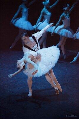 Bild: Schwanensee mit Orchester - Russisches Ballettfestival Moskau