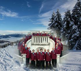 Bild: Südtiroler  Weihnacht - mit dem Trentiner Bergsteigerchor