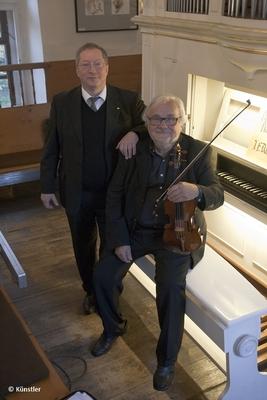 Bild: Klang und Raum im Kaiserdom - Stefan Altner, Orgeln & Christian Funke, Violine