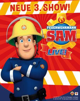 Bild: Feuerwehrmann SAM  -live- - Musical-Abenteuer, Theater auf Tour GmbH