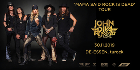 John Diva And The Rockets Of Love - Mama Said Rock Is Dead - Tour