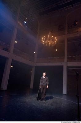 Bild: Die Hamletmaschine - Theater Krefeld Mönchengladbach