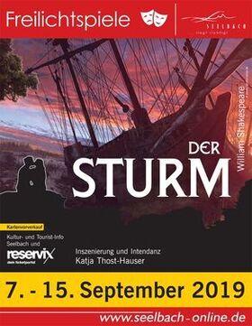 Bild: Freilichtspiele 2019 - Der Sturm – The Tempest
