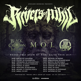 Bild: RIVERS OF NIHIL - BLACK CROWN INITIATE, MØL, ORBIT CULTURE