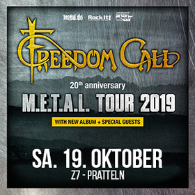 Bild: FREEDOM CALL - M.E.T.A.L. Tour 2019