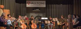 Bild: Youth World Music Orchestra - Leitung Ulli Götte - Kaufunger Stiftssommer