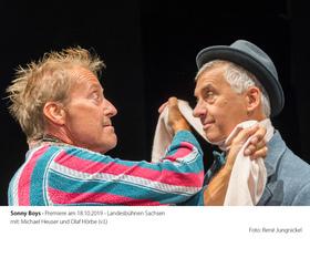 Bild: Die Sunny Boys - Komödie zu Silvester - Landesbühnen Sachsen