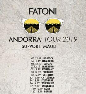 Bild: FATONI - Andorra Tour • Support: MAULI