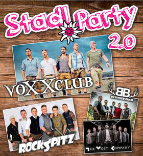 Bild: Stadlparty 2.0 - Voxxclub, Rockspitz, Bätscher Buam, The Most Company (A)