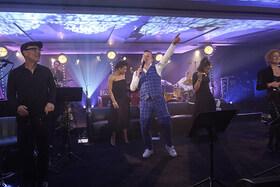Bild: Mr. M´s Jazz Club - Marc Marshall, Judy Niemack, Torsten Goods, Peter Fessler