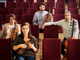 Best of NRW - Vigato Quartett - mit Veronika Bejnarowicz, Violine; Laura Kania, Violine; Marc Kopitzki, Viola; Gereon Theis, Violoncello
