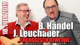 Bild: Bernd Händel und Jürgen Leuchauer