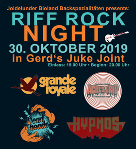 Bild: Riff Rock Night - Swedish Kickass Hardrock in Hellacopters-Style!!