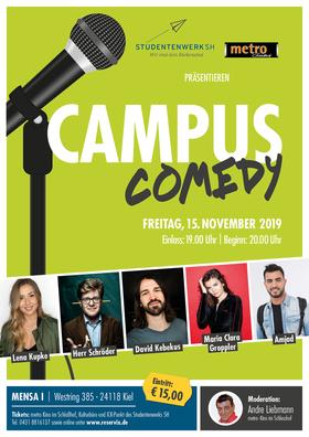 CAMPUS COMEDY - David Kebekus, Kupke,Amjad, Herr Schröder, Groppler