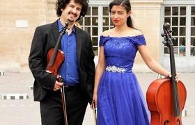 """Bild: Music connects Europe - Konzert und Reiseimpressionen von und mit dem Duo """"ICstrings"""""""