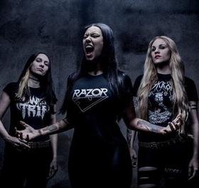 Bild: Nervosa - European Summer Tour