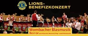 """Bild: Lions-Benefizkonzert - WOMBACHER BLASMUSIK: """"BEST OF..."""""""