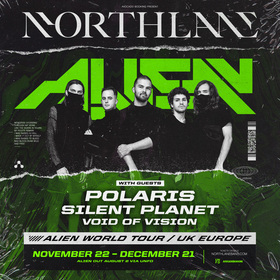 Bild: NORTHLANE - ALIEN WORLD TOUR EU/UK 2019