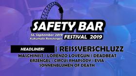 Bild: SAFETY BAR Festival 2019 - Der Sicherheitsbügel sitzt: Rock-Festival in der Kulturhalle Remchingen
