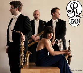 Bild: Raschèr Saxophone Quartet - 50 Jahre Raschèr Saxophone Quartet