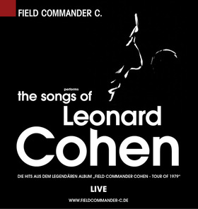 Bild: The Songs of Leonard Cohen - performed by Field Commander C.