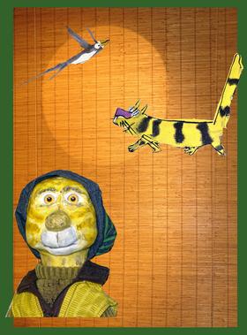 Bild: Der gestreifte Kater und die Schwalbe Sinhá - Figurentheater Gingganz