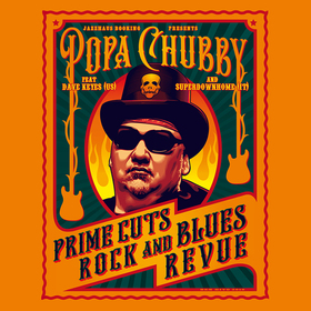 Bild: POPA CHUBBY (USA) - supports : Dave Keyes (USA) & Superdownhome (IT) - Prime Cuts Rock And Blues Revue`- European Tour 2019