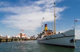 Bild: Fahrt von Langballigau nach Flensburg - Prinz Heinrich unter Dampf