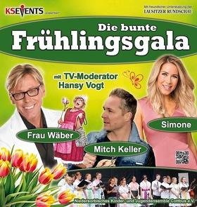 Bild: Die bunte Frühlingsgala - Mitch Keller, Simone, Hansy Vogt + Frau Wäber