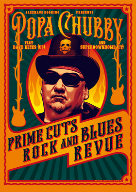 POPA CHUBBY (USA) - supports: Dave Keyes (USA) & Superdownhome (IT)