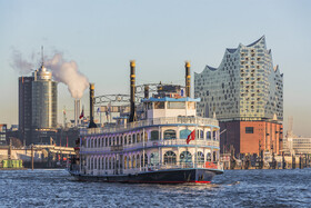 Bild: Die 1-Stündige Große Hafenrundfahrt - Rainer Abicht Elbreederei