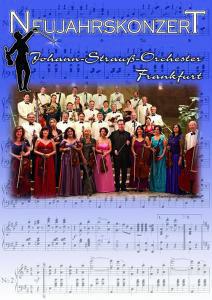 Bild: Neujahrskonzert  - Johann-Strauß-Orchester Frankfurt