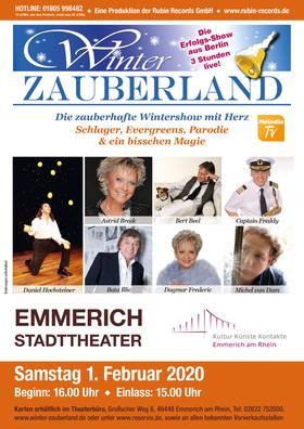 Bild: Winter-Zauberland - Eine phantasievolle Revue mit Musik, Show & Parodie