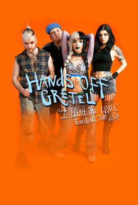 Bild: Hands Off Gretel - I Want The World: European Tour 2019