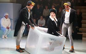 Bild: Ginpuin. Auf der Suche nach dem großen Glück - Lessingtheater Wolfenbüttel