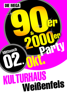 Bild: Die Mega 90er & 2000er Party