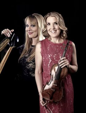 Bild: Nueva Tango für Harfe und Violine auf Schloss Kleßen