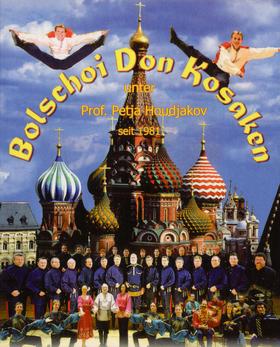 Bild: Original Bolschoi Don Kosaken - Weihnachtsfolklore mit großem Ensemble