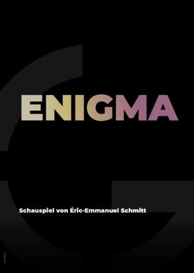 Bild: Enigma - Schauspiel von Éric-Emmanuel Schmitt