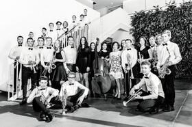 Bild: Hebel Big Band meets SWR Big Band - Begegnungskonzert der besonderen Art: Die Big Band des Hebel-Gymnasiums trifft die SWR Big Band!