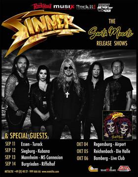 Bild: Sinner & Special Guests - Santa Muerte Release Shows 2019
