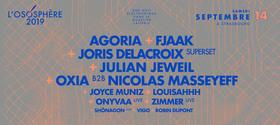 Bild: Festival Ososphere Part 2 - mit Agoria, Fjaak, Julian Jeweil, Joris Delacroix, Oxia, Nicolas Masseyeff u.v.m.