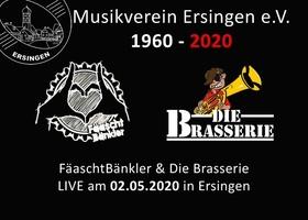 Bild: Fäaschtbänkler & Die Brasserie - 60 Jahre Musikverein Ersingen
