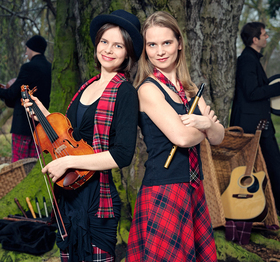 Bild: THE REEL CHICKS AND FAMILY - Irish Folk and Celtic Pop